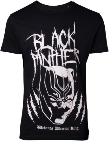 Afbeelding van Zwarte Difuzed Black Panther - Metal Tee Inspired T-shirt - 2XL