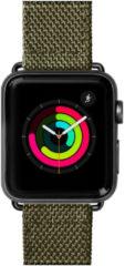 Groene LAUT Technical 2.0 Apple Watch bandje 42/44mm - Olive Green
