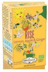Witte Yogi & Yogini Shoti Maa citroen, appel & gember thee BIO - 38.4 - Biologisch (6 stuks)