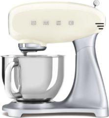 Creme witte Smeg SMF02CREU mixer Staande mixer Crème 800 W