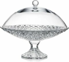 ROGASKA 1665 - DIAMOND footed plate 35 cm with cover