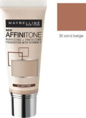 Maybelline Affinitone Tone on Tone unifying Foubdation Cream - 30 Sand Beige