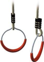 Rode Intergard Ringenset voor speeltoestel ø14,5cm