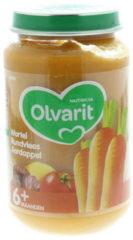 Olvarit Wortel Rundvlees Aardappel 6+ Maanden (1 Potje van 200g)