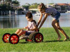 Rode Playwood Zeepkist / Boxcart