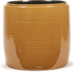 Serax Bloempot Honey-Geel D 34 cm H 34 cm