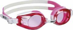 Beco zwembril Rimini polycarbonaat meisjes roze/wit