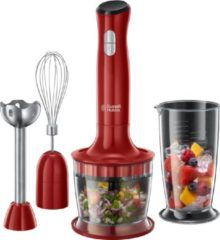 Rode Russell Hobbs 24700-56 Desire 3-in-1 Staafmixer - Rood