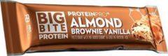 FCB Sweden Big Bite Protein Bar - Eiwitreep - 1 box (24 eiwitrepen) - Amandel Brownie Vanille