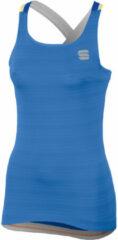 Sportful - Women's Grace Top - Fietshemd maat XS, blauw