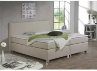 Boxspringbett Meran Maintal Creme