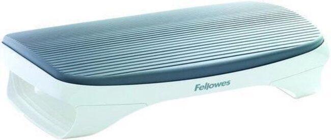 Afbeelding van Witte Fellowes voetensteun I-spire serie grijs
