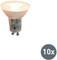 Calex 10er Set LED-Leuchtmittel GU10 240V 5,5W 420lm dimmbar