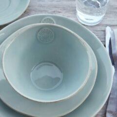 Costa Nova Kom 15cm - Aardewerk - Nova Turquoise - 6 stuks