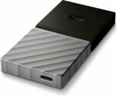 "SanDisk ""WD - Western Digital WD """"My Passport SSD"""" Draagbare harde schijf, 256GB, USB 3.0, zilver"""