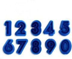 Blauwe J''E''M JEM Numerals Set, 10pcs