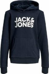 Marineblauwe JACK & JONES JUNIOR JACK&JONES JUNIOR Jongens Sweater - NaBla - Maat 164