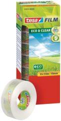 Tesa 57074-00-00 tesafilm tesafilm Eco & Clear Transparant (l x b) 33 m x 19 mm 8 rol/rollen
