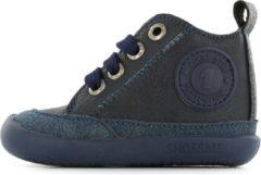 Donkerblauwe Shoesme Baby-Flex Leren loop schoen - Donker Blauw - Maat 23