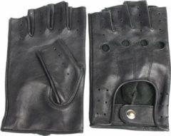 SWIFT Driver vingerloze leren handschoenen zwart | maat XS