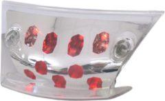 Transparante Achterlicht 'led' Edge Piaggio Zip 2000 helder glas