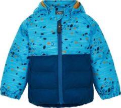 Color Kids - Softshell-jasje voor babyjongens - Dots - Donkerblauw - maat 92cm