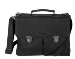 Zwarte Laptoptas Dstrct Wall Street Business Bag Classic 11-15 inch