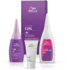Wella Professionals Permanentes Styling Creatine+ Curl Set für eine Komplettanwendung (N) Normales bis widerspenstiges Haar: Permanente Well-Lotion 75