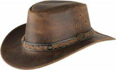 Scippis Lederen hoed Williams bruin, L