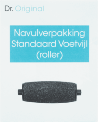 Dr Original Navulverpakking standaard voetvijl (roller) 1 Stuks