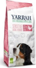 10 kg Yarrah dog biologische brokken sensitive kip zonder toegevoegde suikers hondenvoer