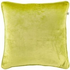 Groene Dutch Decor Sierkussen Fluweel 45x45 Cm Lime - Lime