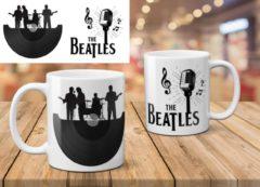 Witte AAA+ The Beatles Mok