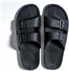 Freedom Moses Slippers Black Zwart - 37-38