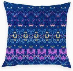 Blauwe Harani Kussenhoes Afrika collectie 1.10