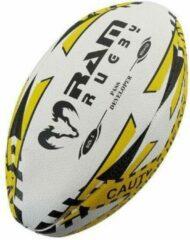 New Pass Developer rugbybal - Verzwaarde bal - Topmerk RAM Rugby Maat 5 - 1 kg.