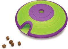Outward Hound Nina ottosson dog treat maze paars / lime 18x18x6 cm
