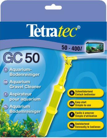 Afbeelding van Gele Tetra Tec Gc50 Bodemreiniger - Aquariumfilter - 50-400 L
