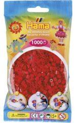 Rode Hama Strijkkralen 1000 Stuks Donkerrood