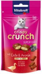 Vitakraft Crispy Crunch 60 g - Kattensnack - Eend&Zwartebessen