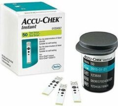 Witte Roche Accu Chek Instant per 50 teststrips