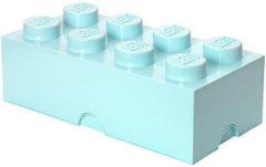 Lichtblauwe Lego Opbergbox Brick 8 - 50 cm x 25 cm x 18 cm - Lichtblauw