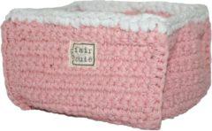 Roze Fair and cute - opbergmandje klein - light pink - mamas 4 mamas