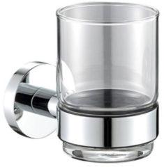 Plieger Vigo bekerhouder m. glas chroom 4784421