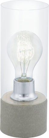 Afbeelding van Grijze EGLO Torvisco 1 - Tafellamp - 1 Lichts - Ø100mm. - Grijs - Helder - Beton