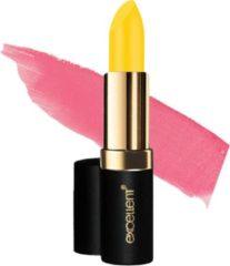Roze Lavertu Long-lasting Lipstick Excellent | De lippenstift die van kleur verandert 104 geel