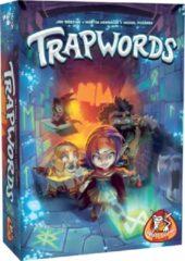 Blauwe White Goblin Games gezelschapsspel Trapwords (NL)
