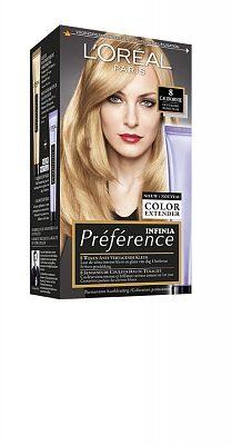 Afbeelding van L'Oréal Paris L'Oréal Paris Préférence 8 - Lichtblond - Haarverfmet Color extender