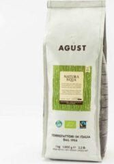 Caffè Agust Natura Equa, biologisch, fairtrade, Co2 neutrale verpakking 1000g bonen