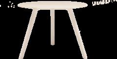 Objekte unserer Tage MEYER Tisch Ø92 Esche lackiert